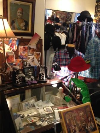 Men's fashion shop